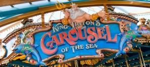 king tritons carousel ride